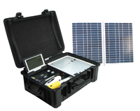 Portable Solar Power System for Home Usage