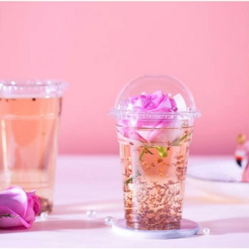 High Clear Disposable Plastic PET Cups