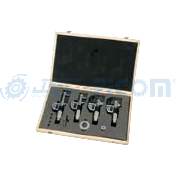 4 pcs. digital inside micrometer set