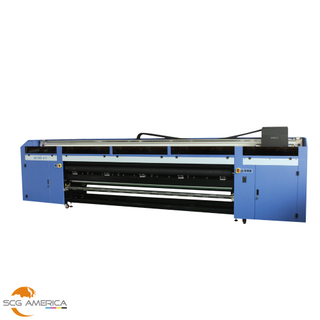 KEUNDO M3200-UV 128'' Roll to Roll Printer With Ricoh Gen5 Printhead