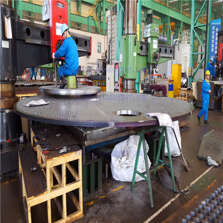 forged tubesheet for hear exchanger