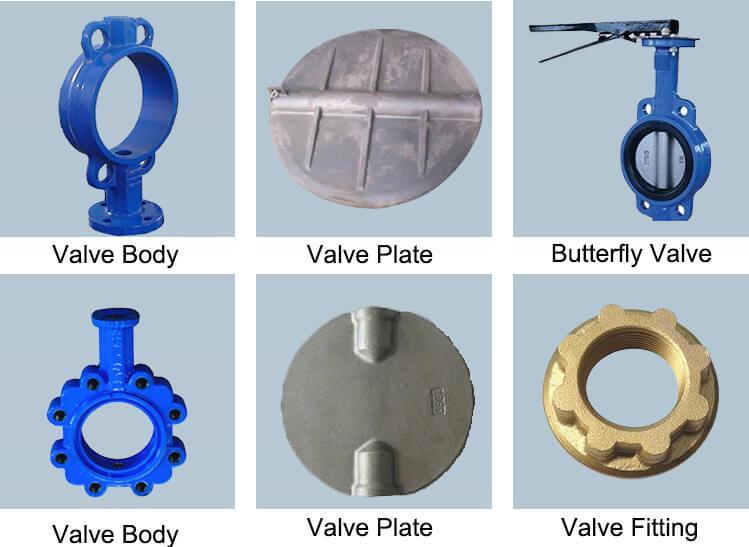 butterfly valve body11