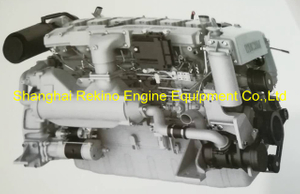 Weichai WP10C375-21 marine propulsion diesel engine for Yacht 375HP 2100RPM