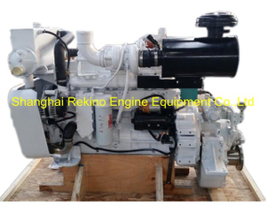 Cummins 6CTA8.3-M260 rebuilt reconstructed marine diesel engine with gearbox (260HP 2200RPM)