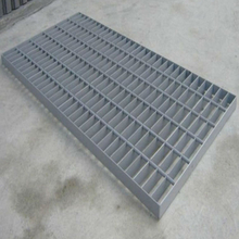Heavy duty galvanized steel drainage grating