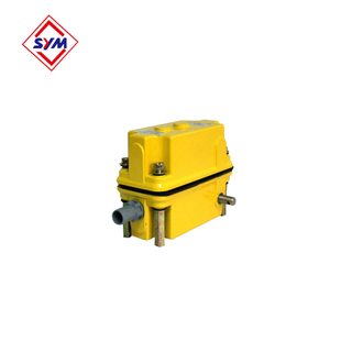 Tower crane limit switch