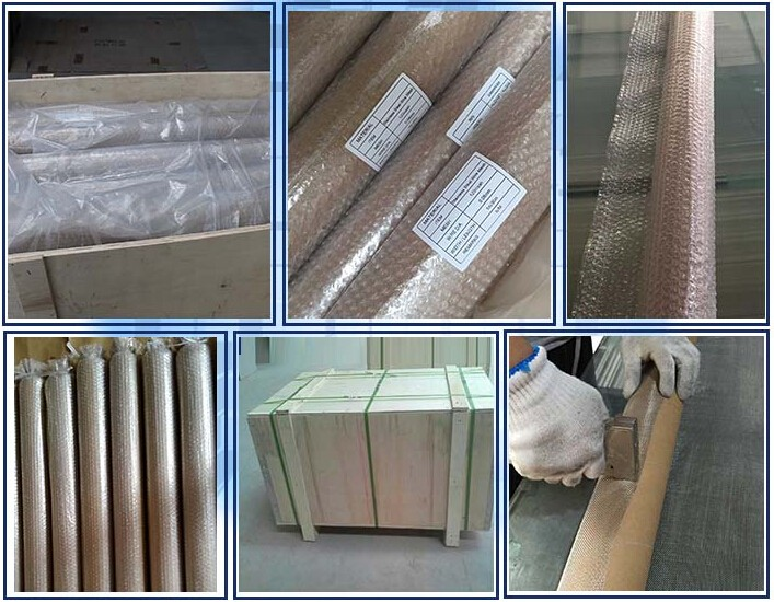 Twill Dutch weave Stainless Steel Wire Mesh Packing