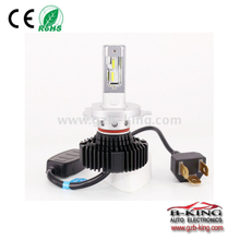 360 degree heat sink rotatable 4500lm cree XD14 fanless Car Led Headlight