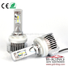 Smallest P12 45W 6500lm universal H15 car led headlight with built-in fan( 100% suitable for all cars)