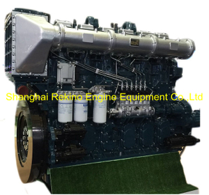 1135HP 1000RPM Yuchai marine propulsion boat diesel main engine (YC6CL1135L-C20)