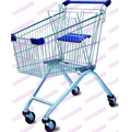 Supermarket shopping cart with 5inch Castor.png