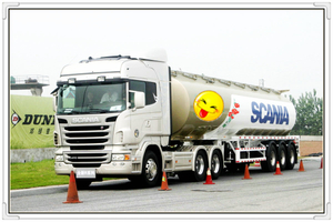 Organic Chemical stainless steel Tank Semi-Trailer