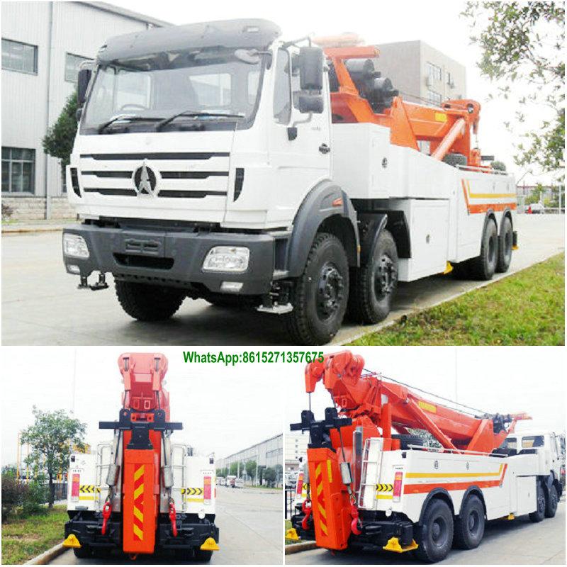 Beiben 3134 Recovery Trucks Wrecker Customization