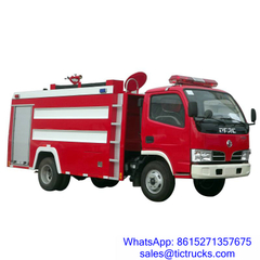 2500L 90HP Water Fire Truck Euro 4 DongFeng for sale