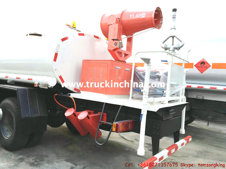 Dust Control Fans : Dust control truck water tanker with pump tic trucks