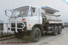 Dongfeng 6x6 water tanker truck
