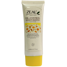 2016 80ml Zeal Oil Control Moisturizing Face Scrub with Chamomile