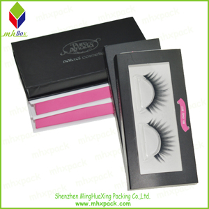 2016 Hot Sale Paper Cosmetic Box for Eyelash Packaging