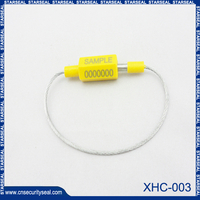 Security plastic cable seals