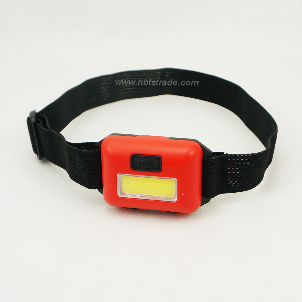 Ultra Slim Light-weighted COB LED Headlamp