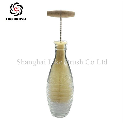 Soda Water Bottle Sparkling Water Bottle Glass Bottle Cleaning Brush