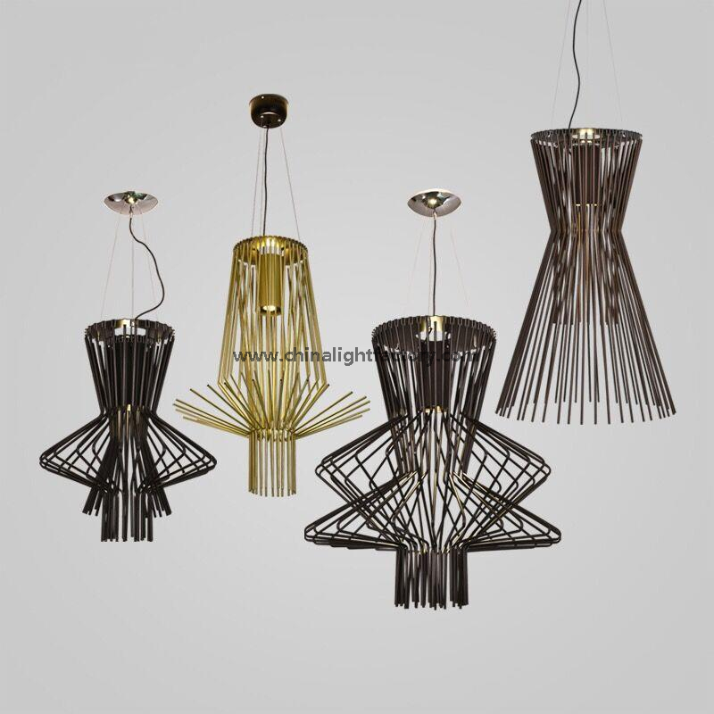 Contemporary Lighting Fixture LED Aluminum Suspension Lamp for Home Decoration (3025101)