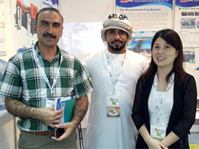 Dubai customer visit