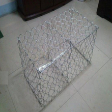 Hot dipped galvanized Hexagonal gabion basket
