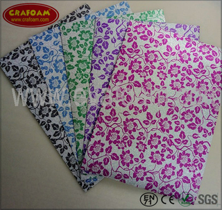 Glitter Film EVA Foam Sheets (Flower)