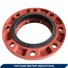 UNI Flange for ductile iron di pipe plain end