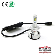IP67 T9 6-30V(9-30V optional) 5000LM canbus slim car led headlight with fan & DRL