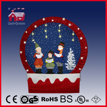 (40110F170-3C-RR) Snowing Christmas Decorations with Frame-supported and Textile-decorated