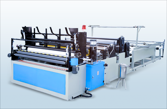 Automatic Kitchen Towel and Toilet Tissue Paper Making Machine