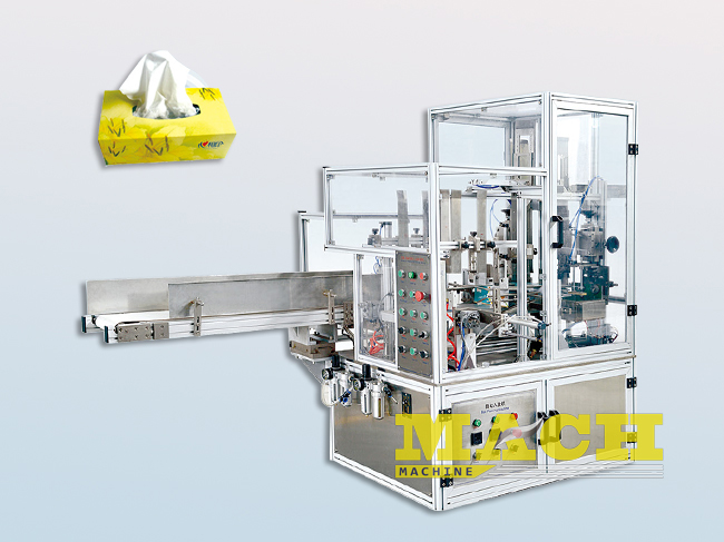 Facial-Tissue-and-Paper-Napkin-Carboard-Box-Packing-and-Sealing-Machine
