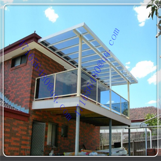 blue polycarbonate solid skylight