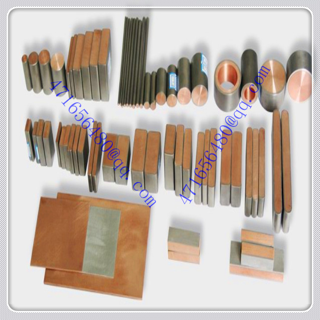 TI cladded copper bent finishing composite bar for Mobile phone component field