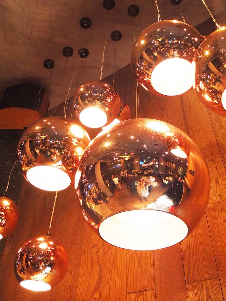 Tom Dixon Copper ball pendant lamp -4026101- (6)