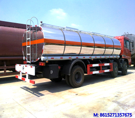 Dongfeng 6x2 road tanker truck with Insulation