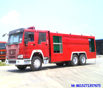 HOWO 6x4 Fire Trucks 8 ~12 cbm Water and Foam  <Customization LHD RHD>