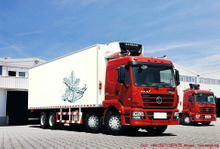 SHACMAN Food refrigerated truck 8x4 Freezer Truck 30~40T <Customization RHD>