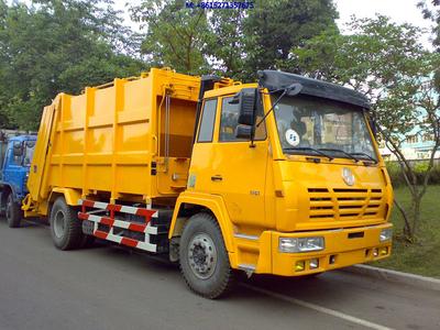 SHACMAN STEYR Trash Compactor Trucks 9-12m3