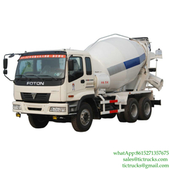 FOTON 6x4 Mixer Truck for sale Euro 3,4 ,5