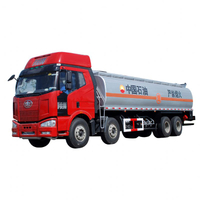 32000L FAW Gasoline Tank Truck 8x4 for sale