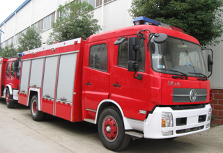 Dongfeng 5500L-6000L Fire Trucks (fire vehicle)