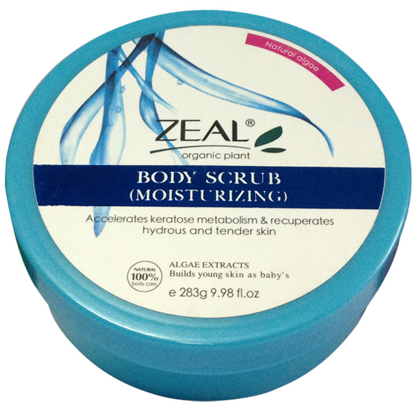 2016 Zeal Moisturizing Vitamin E Body Scrub