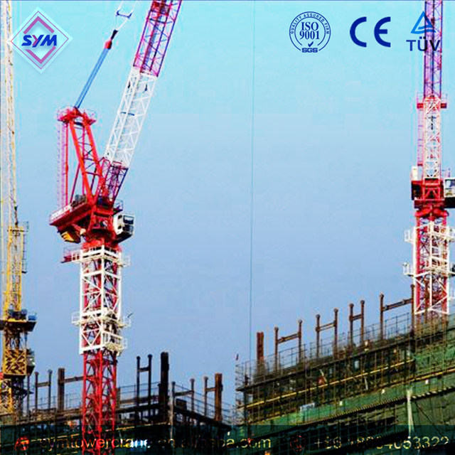 QT800/50 Chinese Manufactured Luffing Jib Tower Crane
