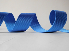 45mm blue polyester webbing for car safety belt