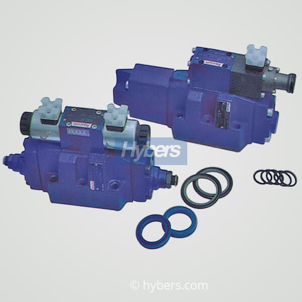 hydraulic valve and European sealing components