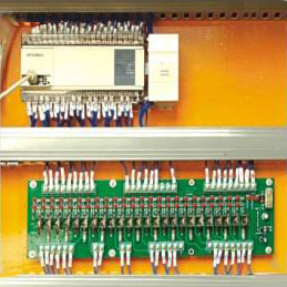 Adopting computers and contactors of world famous brand.