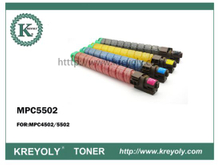 Hot Sales Ricoh Color Toner Cartridge MPC5502/4502